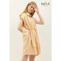 NOA Everyday NAO Casual Women Midi Dress Wanita