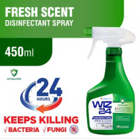 WIZ 24 DISINFECTANT SPRAY FRESH SCENT 450 ML / WINGS CARE DISINFECTANT