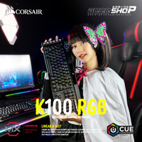 K100 RGB Mechanical - CHERRY® MX Speed - Gaming Keyboard