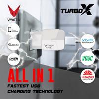 VYATTA TURBO Charger Quick Charge 3.0 - GARANSI 12 BULAN TANPA BATAS - Putih
