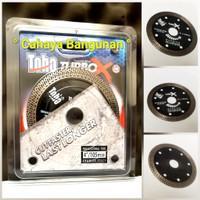 "DIAMOND WHEEL Mata Pisau Gerinda Potong Granite Marmer TOHO Turbo X 4"""