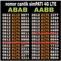 nomor cantik Telkomsel simpati red dan simpati loop 4G LTE