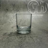 Gelas Sloki Lu 03 Kedaung. Shot / Whisky / Soju / Souce Glass