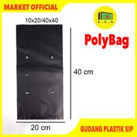Plastik Polybag Tanaman 40x40 cm (isi 20 pcs)