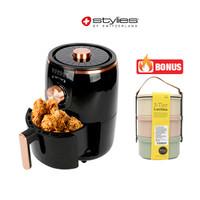 STYLIES Air Fryer Menggoreng Sehat Tanpa Minyak