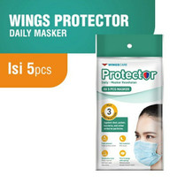 MASKER WINGS CARE PROTECTOR 3 PLY 1 PACK 5 PCS / WINGS CARE PROTECTOR