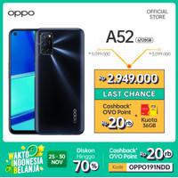 OPPO A52 Smartphone Special Online Edition 6GB/128GB (Garansi Resmi)