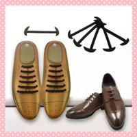 tali sepatu pria formal karet silikon elastis