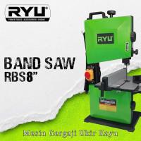 "Mesin Gergaji Pita Ukir Kayu / Potong Kayu / Band Saw 8"" RBS-8 RYU"