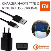 CHARGER XIAOMI TYPE C / MICRO USB ORIGINAL