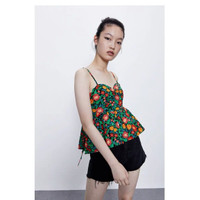 Baju Tank Top Wanita Colorful Sexy Sling Import