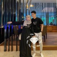 na baju couple gamis kaos busana muslim fashion pria wanita
