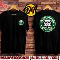 Kaos Pria / Baju Atasan Pria STAR WARS COFFE/ Kaos Distro / T-shirt
