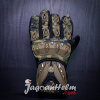 GLOVE SCOYCO MC10 | BLACK - ARMY | SARUNG TANGAN MC-10 GLOVES