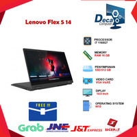 Laptop Lenovo Flex 5 14 2in1 Touch i7 1165G7 16GB 512ssd IrisXE Win 10