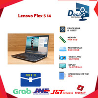 Lenovo Flex 5 14 2in1 Touch i5 1135G7 8GB 512ssd IrisXE W10+OHS 14FHd