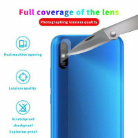 XIAOMI REDMI 9A TEMPERED GLASS SCREEN CAMERA LENS PROTECTOR BENING
