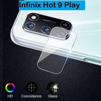 INFINIX HOT 9 PLAY TEMPERED GLASS CAMERA LENS SCREEN GUARD PROTECTION