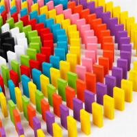 Mainan Balok Domino 120 PCS Mainan Edukasi Anak - Multi Warna