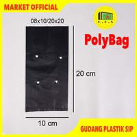 Plastik Polybag Tanaman 20x20 cm (isi 167 pcs)