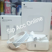 charger iphone lightning For X xs xs max Ipad Power Adapter 30 W (ORI)