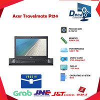Laptop Acer Travelmate P214 i5 10210 4GB 1TB W10 14.0 BLK