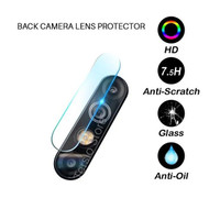 INFINIX HOT 8 X650 TEMPERED GLASS SCREEN CAMERA LENS PROTECTOR BENING