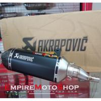 Knalpot Akrapovic Vespa GTS 125 150 Original Slip On