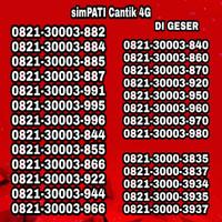 Nomor cantik simpati telkomsel 6262 xx
