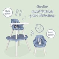 High Chair Cocolatte CL UR 2308 MULTI SWITCH 3 In 1 Kursi Makan Anak