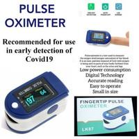 Oximeter Alat Pengukur Saturasi Denyut Nadi Jantung Oximetry Monitor L