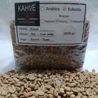 Green Bean / Biji Kopi Fine Robusta Kerinci Honey 2kg