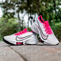 Nike AIR ZOOM TEMPO NEXT% FLYKNIT White Pink