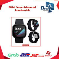 Fitbit Sense Advanced Smartwatch | Garansi Resmi | White Gold