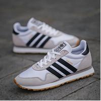 Sepatu Sneakers Adidas Haven white black