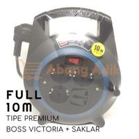 Victoria Boss Turbo 10 m Saklar Kabel Roll Cable Rol Extension meter