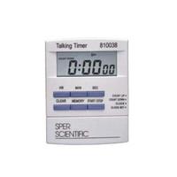 "Sper Scientific 810038 Talking Lab Countdown Timer, 0.75"" Display Time"