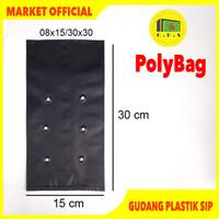Plastik Polybag Tanaman 30x30 cm (isi 71 pcs)