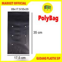 Plastik Polybag Tanaman 35x35 cm (isi 25 pcs)