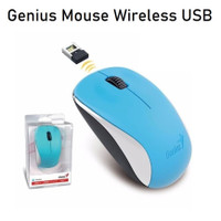 Mouse Wireless 2.4 GHz USB Optical BlueEye Sensor Genius NX 7000 Ori