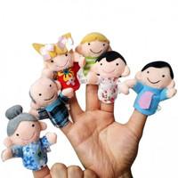 boneka jari keluarga/family finger 6pcs