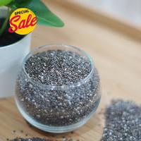 Chia Seed Mexico Organik 1 Kg Biji Chia Hitam Premium