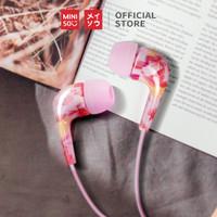 MINISO Earphone Earbud Headphone In-Ear Metal Stereo Suara Jernih
