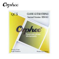 Orphee QC5 28-43 Senar Gitar Klasik Nylon Normal Tension