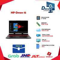 Laptop HP Omen 15 i7 10750 16GB 512ssd RTX2070 8GB W10 15.6FHD