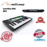Keyboard Midi Controller Novation Launchkey Mini MK3 - 25 key 8 Pad