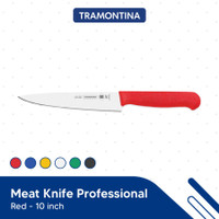 Pisau Tramontina - 10 Inch Meat Knife Professional Red