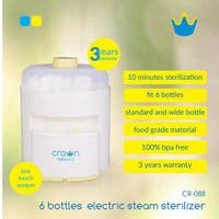 Crown Sterilizer 6 Bottle - Sterilisasi Steril Botol Susu Bayi