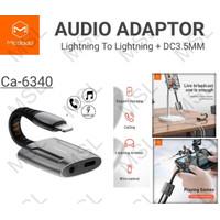 Mcdodo Adapter Audio Konverter Headset iPhone Lightning to 3.5 CA-6340