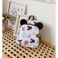 Tas Ransel Anak Motif Mickey Tas Import Ransel Anak Perempuan - Putih
